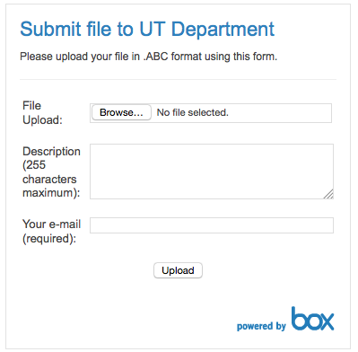 Configure the Box Upload Widget - Step 3