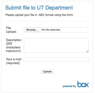 Configure the Box Upload Widget - Step 3