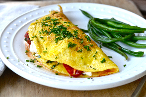 image of omelet