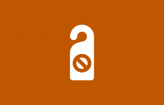 Icon that depicts privacy.